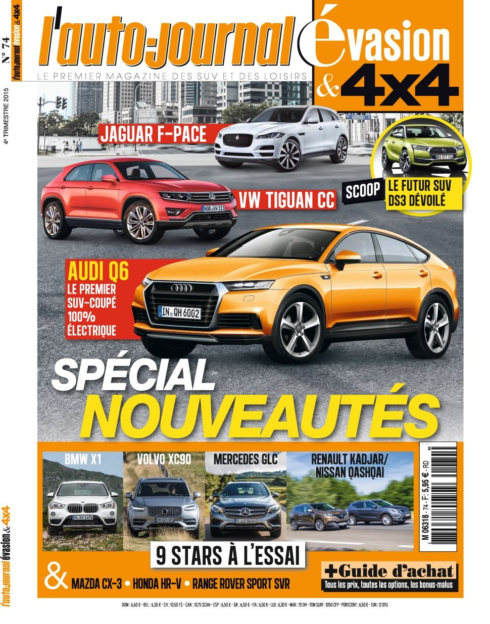 L'Auto-Journal 4x4 74 - Octobre-Decembre 2015