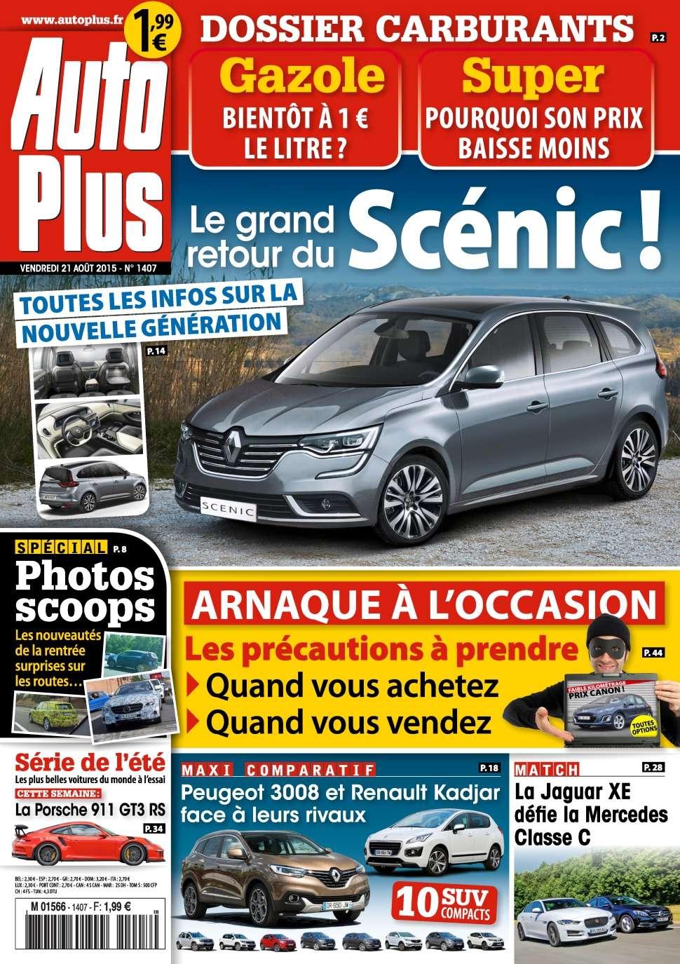 Auto Plus 1407 - 21 au 27 Août 2015