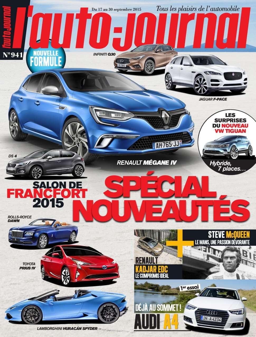 L'Auto-Journal 941 - 17 au 30 Septembre 2015