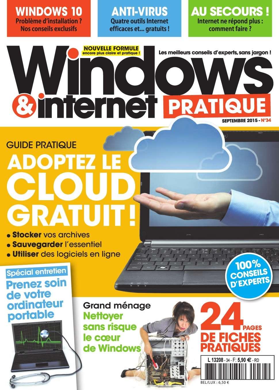 Windows & Internet Pratique 34 - Septembre 2015