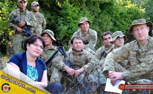 თინათინ ხიდაშელი ერთ კვირა სამხედრო წესით იცხოვრებს