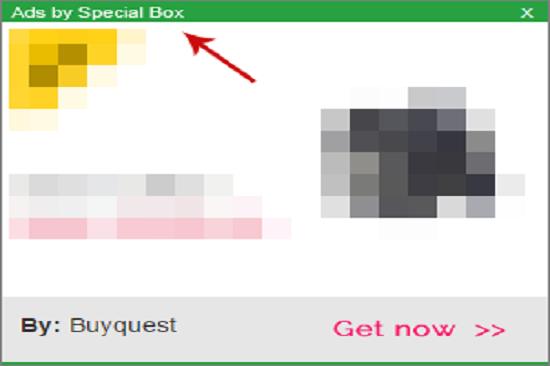 Remove Special Box Ads