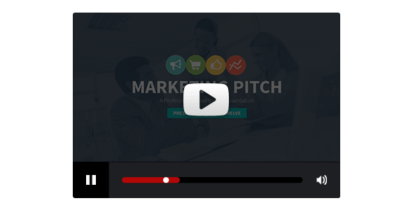 Marketing Slide Pitch Deck Powerpoint Template