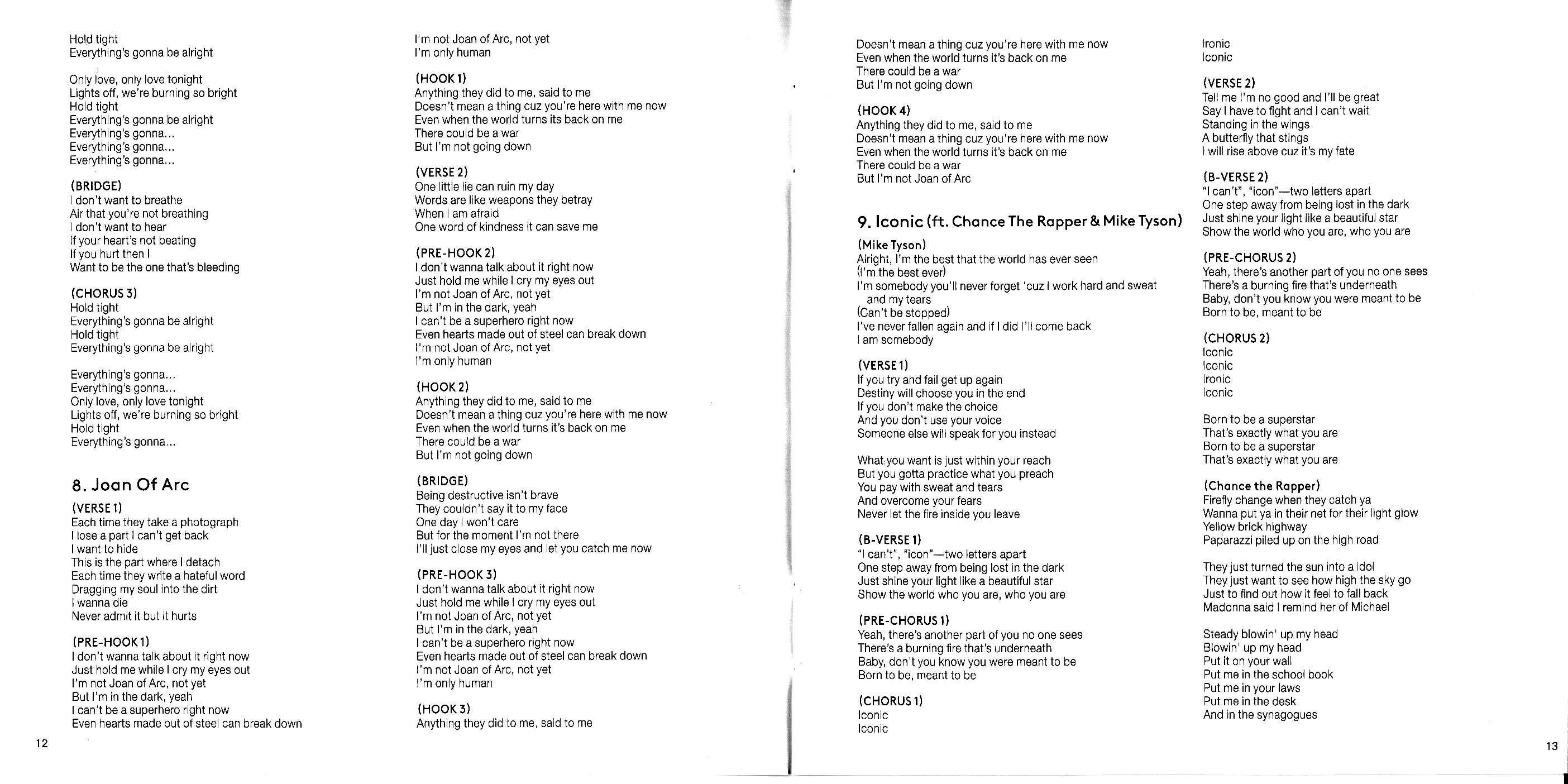 Madonna Rebel Heart Japanese Version - Scans (17)