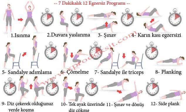 12 Egzersiz