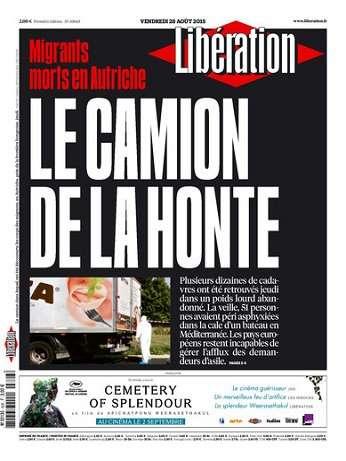Liberation Du Vendredi 28 Août 2015