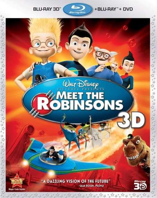 I Robinson - Una famiglia spaziale (2007) ISO BDRA 3D BluRay AVC DTS ITA DTSHD ENG SUb - DDN