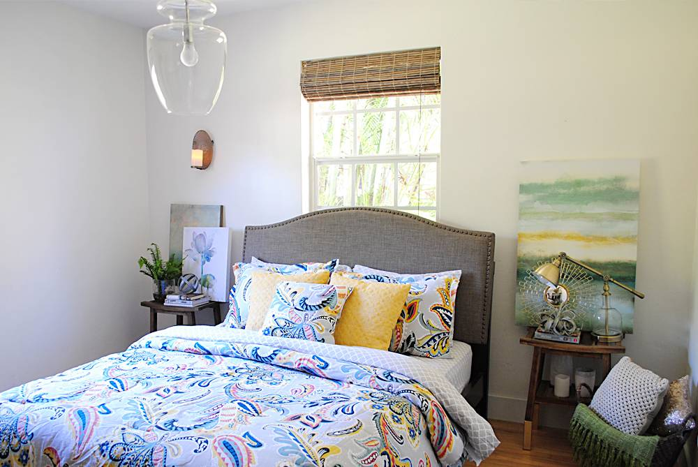 Bright Master Bedroom decor
