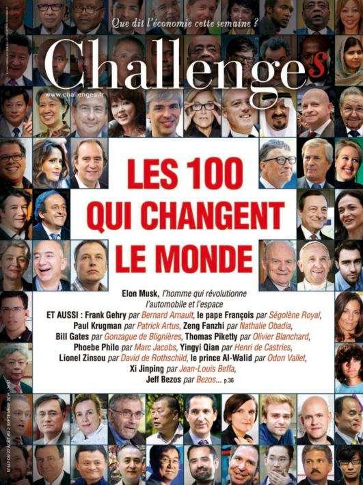 Challenges - 27 Août au 2 Septembre 2015