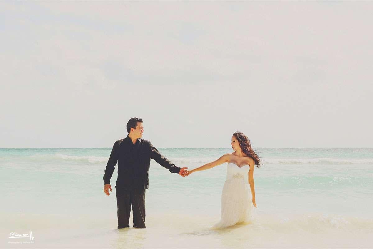 boda en dreams tulum resort fotos