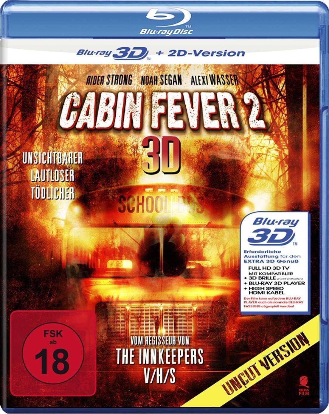 Cabin Fever 2 (2009) ISO BDRA 3D 2D BluRay DD ITA DTS-HD ENG - DDN