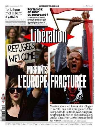 Liberation Du Lundi 14 Septembre 2015