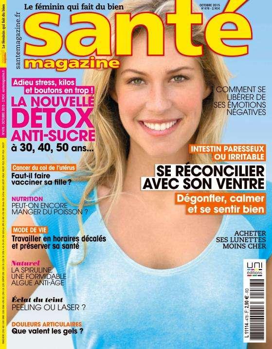 Santé Magazine 478 - Octobre 2015