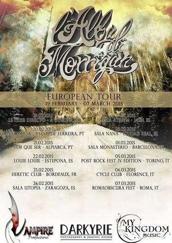 L'Alba di Morrigan - gira europea