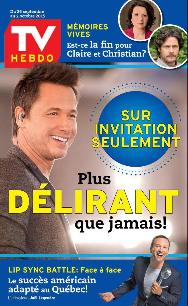 TV Hebdo - 26 Septembre au 2 Octobre 2015
