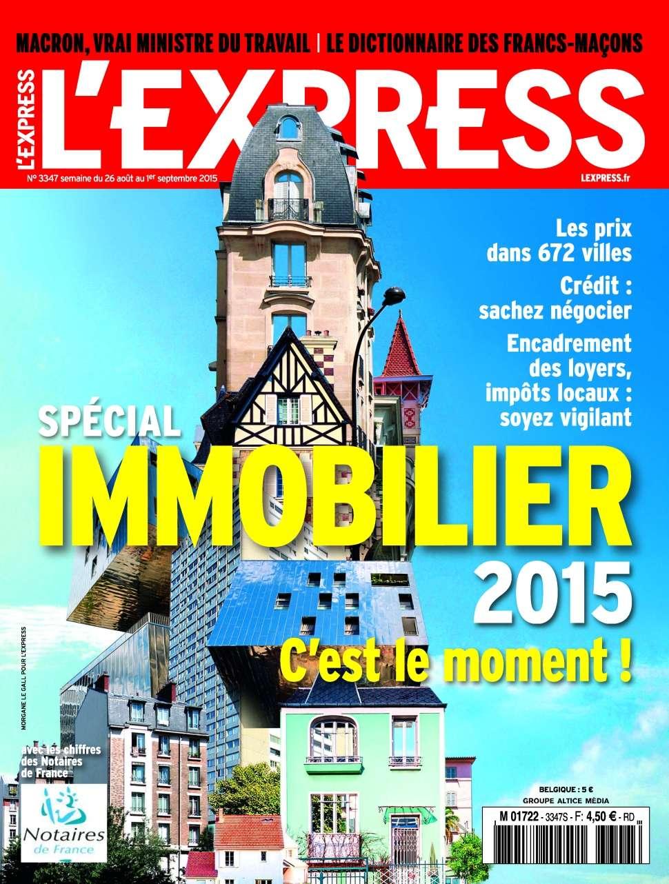 L'Express .3347 - 26 Août au 1er Septembre 2015