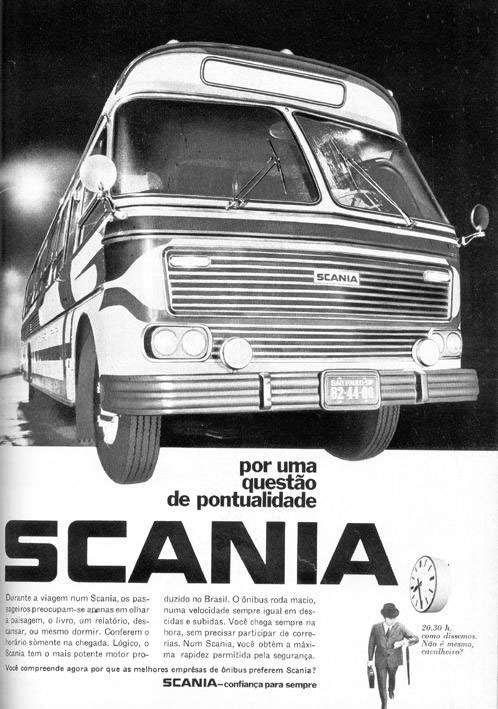 Scania. Por uma questão de pontualidade.
