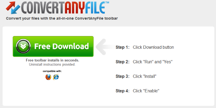 Remove ConvertAnyFile toolbar