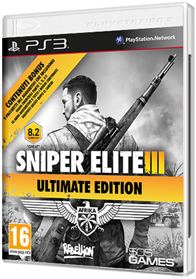 [PS3] Sniper Elite 3 - Ultimate Edition (2015) - FULL ITA