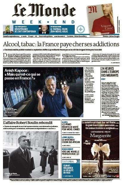 Le Monde Weekend et 4 Suppléments du Samedi 12 Septembre 2015