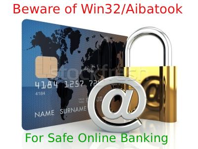 Verwijder Win32/Aibatook