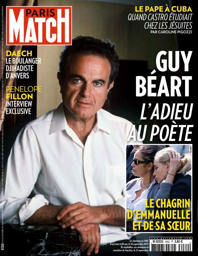 Paris Match - 24 au 30 Septembre 2015