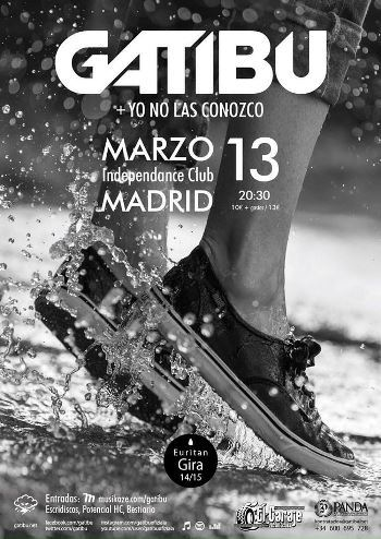 Gatibu en Madrid - cartel