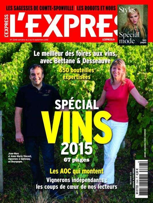 L'Express - 2 au 8 Septembre 2015