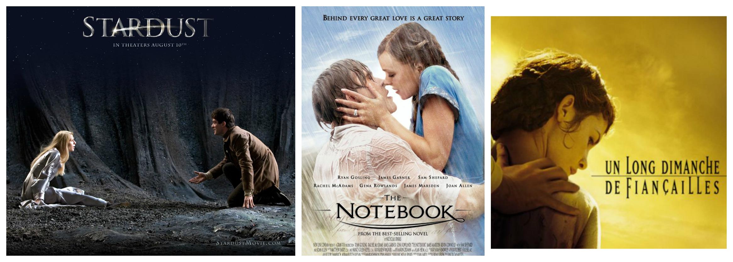 peliculas romanticas basadas en libros