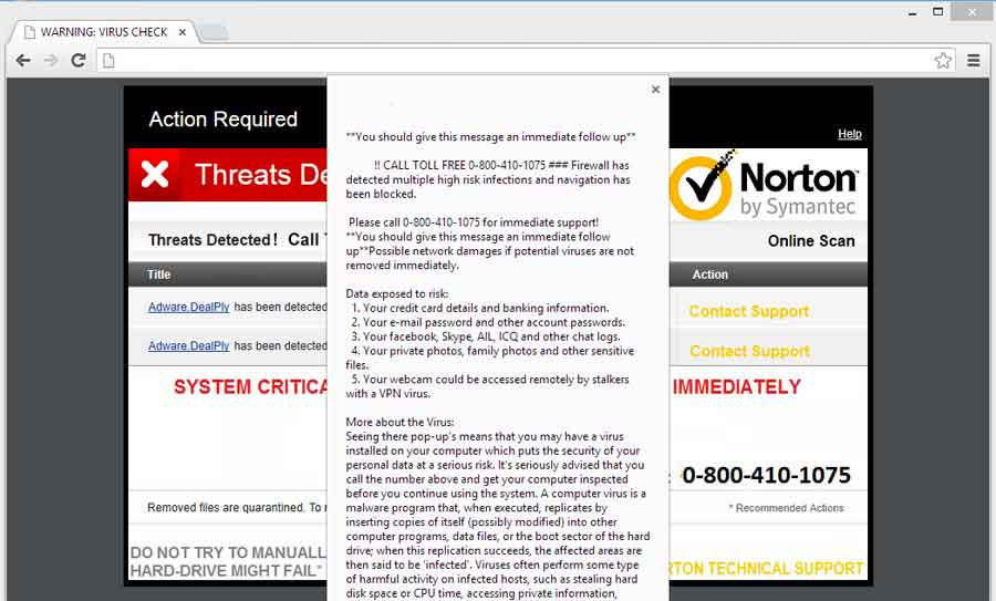 Remove Redlrect-avscanner.com