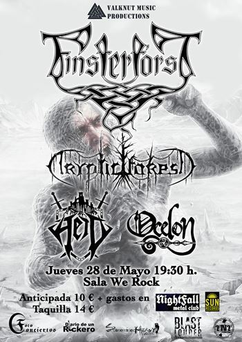 FINSTERFOSRST Madrid cartel