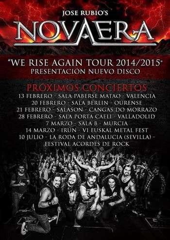 José Rubio's Nova Era gira cartel