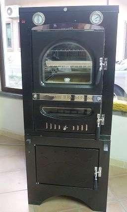 Forno legna ventilato da incasso clementi smile fuoco indiretto mis int l40xp50 imar - Misure forno da incasso ...