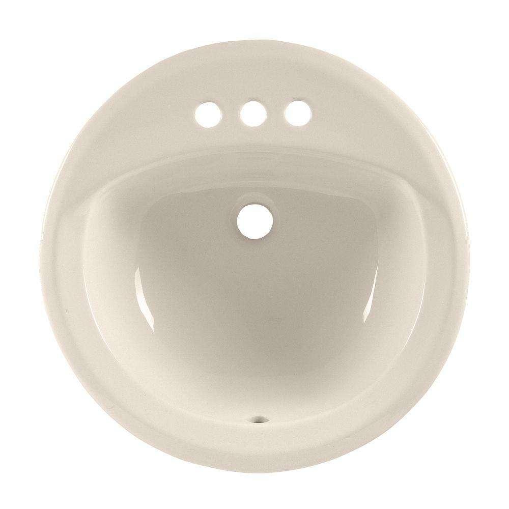 American Standard American Standard 0491.019.222 Rondalyn Self-Rimming Bathroom Sink in Linen