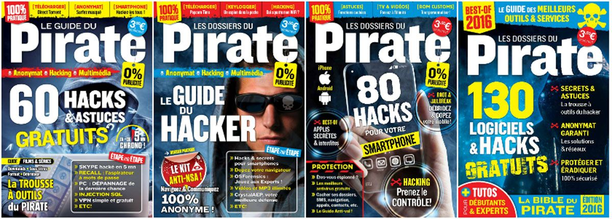 Pirate Informatique HS - Full Year 2015 Collection