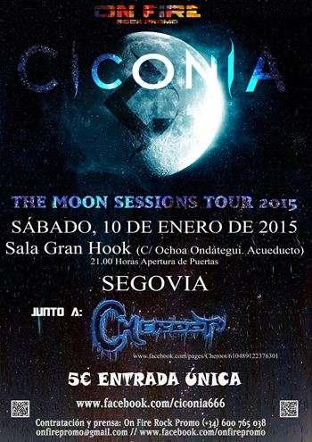 Ciconia cartel Segovia