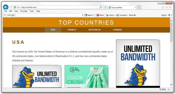 Verwijder Big-countries.net