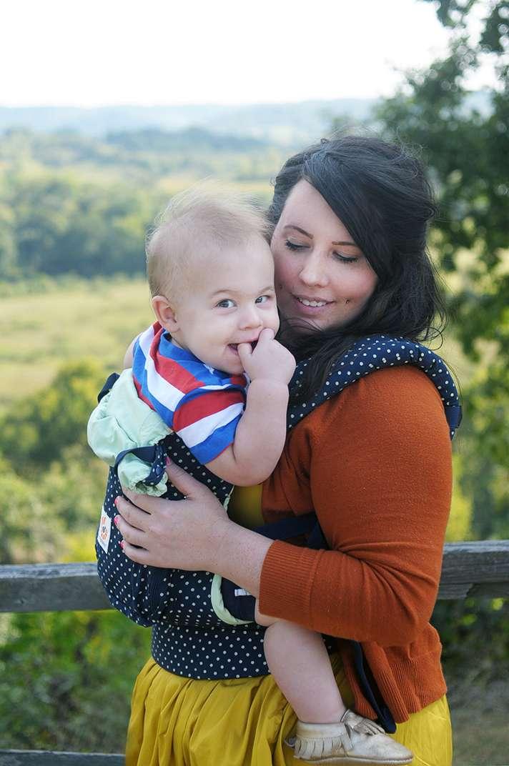 Babywearing with Ergo