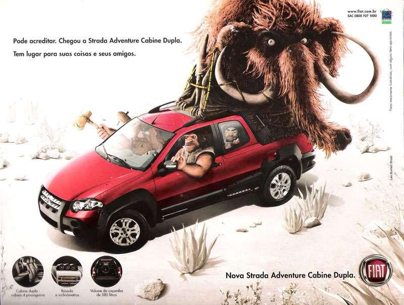 Pode acreditar. Chegou a Fiat Strada Adventure Cabine Dupla. Tem lugar para suas coisas e seus amigos.