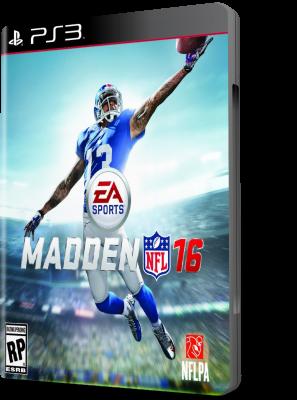 [PS3] Madden NFL 16 (2015) - ENG