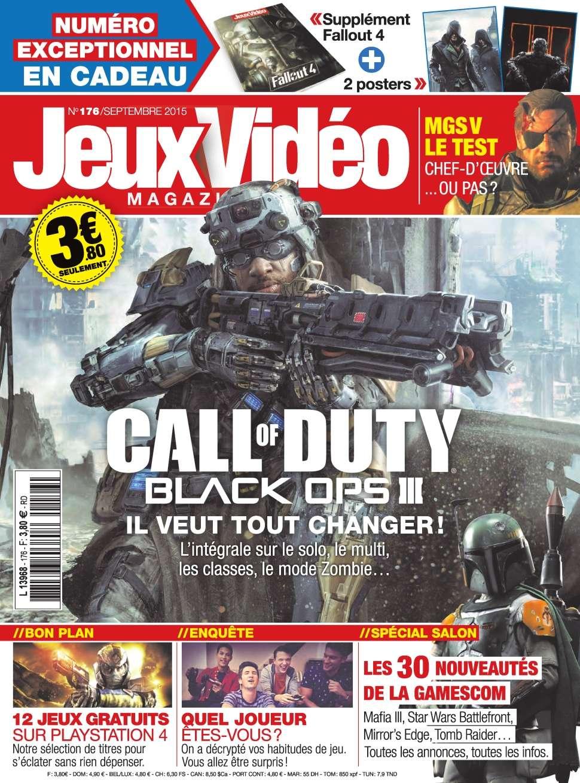 Jeux Vidéo magazine 176 - Septembre 2015