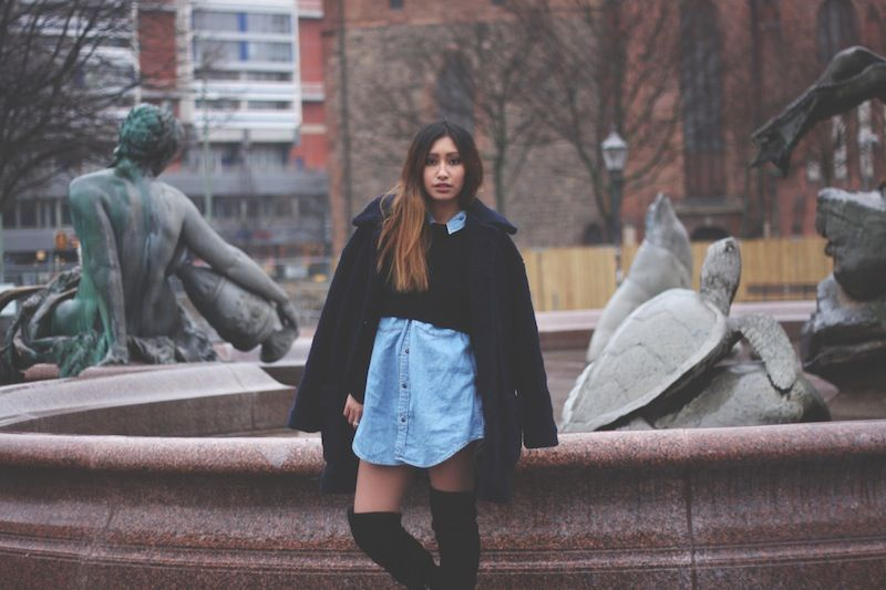 oversized women coat urban outfitters