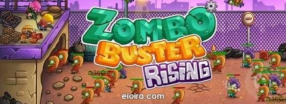 Zombo Buster Rising Logo