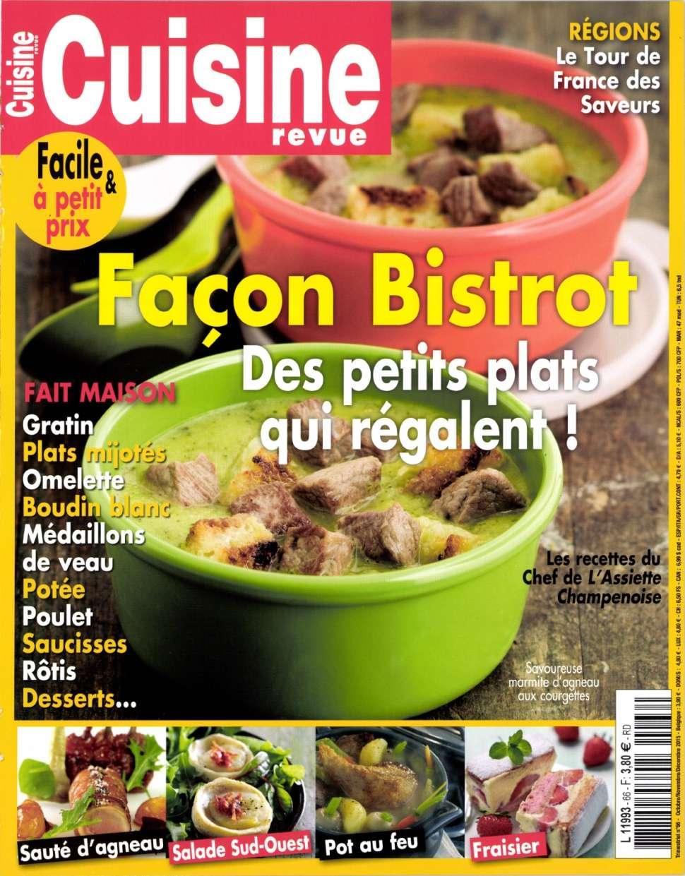 Cuisine Revue 66 - Octobre / Decembre 2015