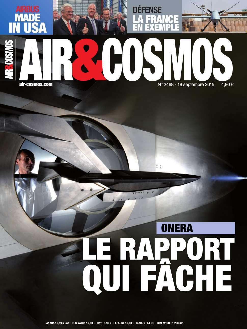 Air & Cosmos 2468 - 18 au 24 Septembre 2015
