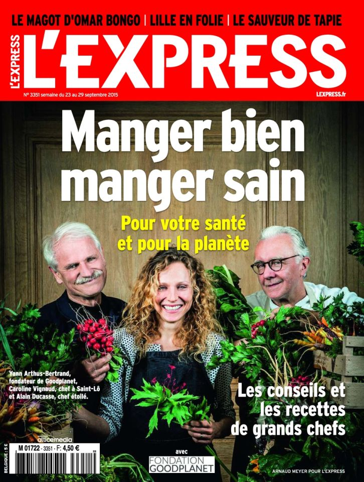 L'Express 3351 - 23 au 29 Septembre 2015