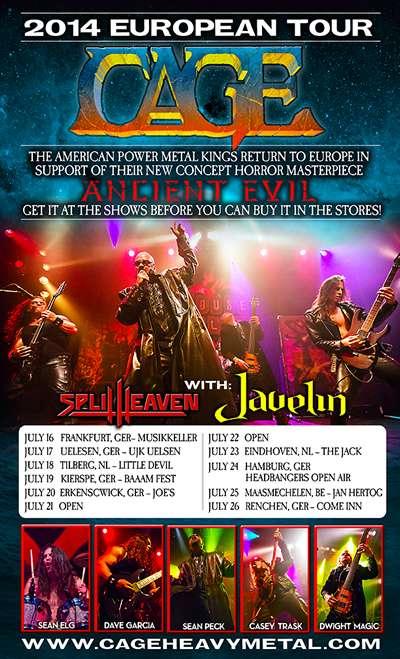 Javelin Band Tour