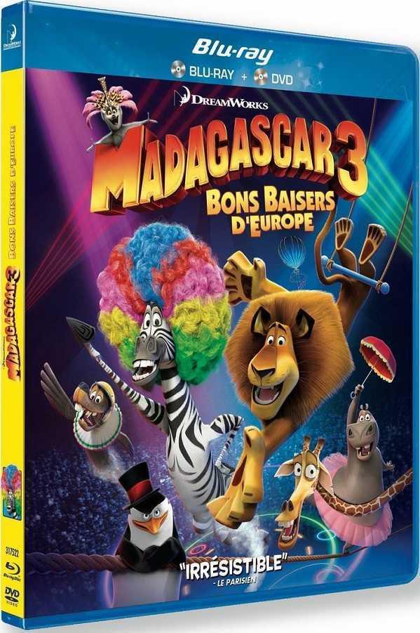 Madagascar 3 - Ricercati in Europa (2012) BDRip 480p AC3 ITA ENG SUb - DDN