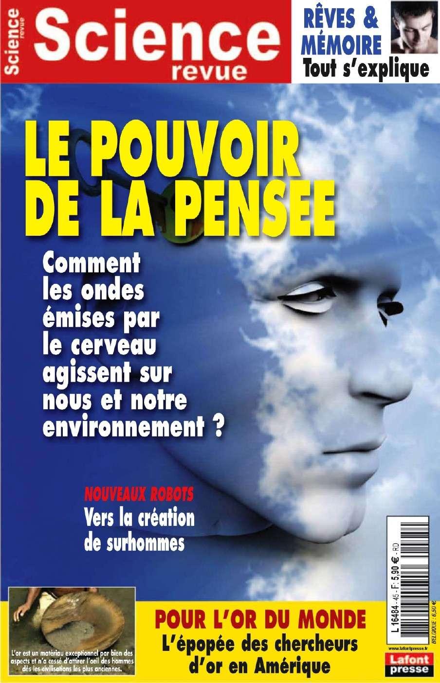 Science Revue 45 - Le pouvoir de la pensee