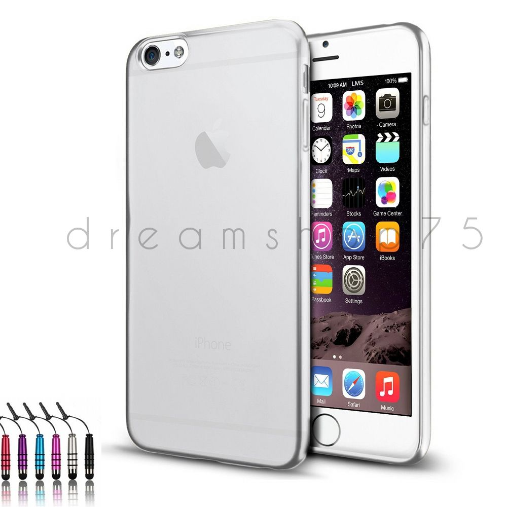 Coque housse etui en silicone tpu pour iphone 6 film for Fenetre zoom iphone x